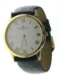 Baume & Mercier Uurwerken horloges Gold Watchbox Knokke Antwerpen