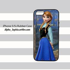 Anna Frozen iPhone 5 5s Rubber Case Cover