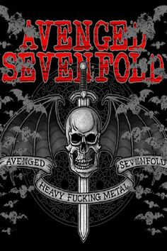 An Avenged Sevenfold Wallpaper Created By Combining Various Other Images And Then Editing Colour Some Effects