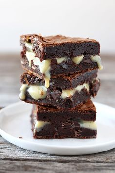 Ultimate Gooey Brownies from handletheheat.com