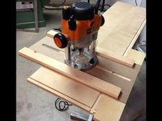 Simple router jig and techniques: Woodworking tips