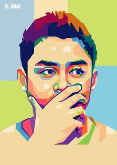 #popart #illustration #portrait #WPAP #artwork