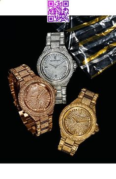 Michael Kors 'Camille' Crystal Encrusted Bracelet Watch, from Nordstrom. Cheap Michael Kors, Michael Kors Jewelry, Michael Kors Outlet, Michael Kors Watch, Mk Handbags, Handbags Michael Kors, Mk Watch, Mk Bags, Or Rose