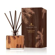 Buy Thymes Fraiser Fir Wood Design Reed Diffuser 3.4 oz at affordable rate. Choose from our wide range of Diffusers from ASecretAdmirer.com