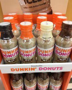 Dunkin Donuts Iced Coffee Drinks Starbucks Bottles, Iced Coffee Drinks, Dunkin Donuts Coffee, Coffee Creamer, Mocha, Drink Bottles, Beverages, Room Ideas, Food