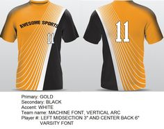Sublimated custom uniforms | Custom jerseys for teams