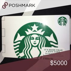 🎁🎉🎈FREE GIFT WITH PURCHASE🎁🎉🎈 🎁🎉FREE $15 STARBUCKS GIFT CARD🎁🎉ALL PURCHASES $250 OR OVER WILL RECEIVE A $15 STARBUCKS GIFT CARD FREE STARBUCKS Other