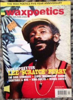 WAX POETICS #20 Lee Scratch Perry REGGAE Soul Syndicate Bullwackie Dennis Coffey