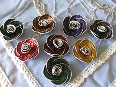 Recycle your Nespresso capsules to make jewellery