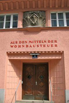 Engelsberggasse Vienna Flapper Style, Flapper Fashion, Architecture Tumblr, Vienna, Austria, Entrance, Art Deco, Windows, Doors