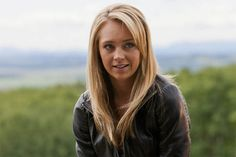 "I love Amber Marshall's hair in this Heartland episode, ""Fools Gold"" -- season 5 episode 11."