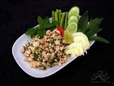 Laab - salade thaïe de poulet