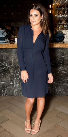 Lea Michele oozes an understated elegance as she attends AYR fashion bash… Celebrity Outfits, Celebrity Style, Lea Michele Glee, Nice Dresses, Dresses For Work, Evening Outfits, Celebrity Red Carpet, Red Carpet Looks, Night Looks