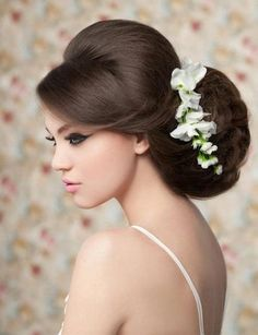 Beautiful hair - up - style