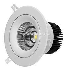 3 inch 10W Accurate Color Temperature(CCT) and Aluminum Alloy Lamp Body Material COB LED down lights