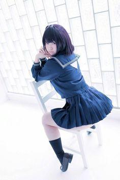 School Girl Outfit, School Uniform Girls, Girls Uniforms, Cute Asian Girls, Cute Girls, Japan Girl, Asia Girl, Kawaii Girl, Guys And Girls