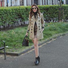 LONDON • DAY01 ✌️ Look de hoje já está no blog com detalhes! Hi-lo mara e botinha @Melissaoficial linda! CHECK IT >>> garotasestupidas.com | ph: @brunavalenca #camilook #ootd