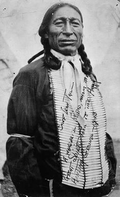 Iron Tail (Sinte Maza) was an Oglala Lakota who fought at the Battle of the Little Big Horn in 1876. He also performed with Buffalo Bill's Wild West Show during the 1890's and with the Miller