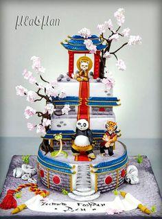 Kunfu Panda Cake!!