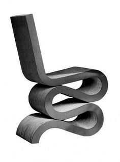 Frank Gehry- Every architect designs their own seat it's in their nature