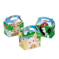 Farm Party Food Boxes