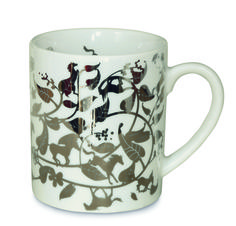 Authentics Table Stories Coffee Mug Galopping Tree Decoration Platin Porcelain for sale online Tord Boontje, Scandinavian Christmas, The Perfect Touch, Tree Decorations, Different Colors, Designer, Color Schemes, Coffee Mugs, Tableware