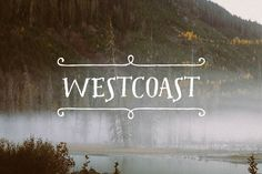 Westcoast Font Pack ~ Serif Fonts on Creative Market Modern Serif Fonts, Typography Fonts, Graphic Design Typography, Hipster Illustration, Commercial Fonts, Font Packs, Hand Drawn Fonts, Word Fonts, Types Of Lettering