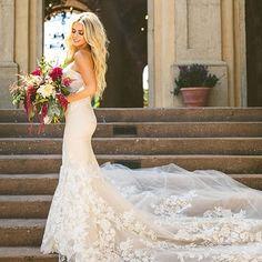 Swooning over this wedding dress  Gorgeous train details  ❤ Double tap if you like this style ... . . Congratulations @jesssouthern Dress by @inbaldror Photo by @cptphoto Flowers @inbloomflorist Photo via @weddingchicks . . #weddingforward #wedding #bride #bridetobe #weddingday #свадьба #italy #weddingphotography #prada #bridesmaids #weddinginspiration #instawedding #weddingparty #weddingideas #weddingplanning #weddingphoto #weddingtime #instabride #gettingmarried #weddingblog #dreamweddi...