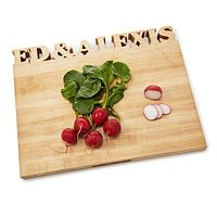 PERSONALIZED CUTTING BOARD|UncommonGoods $159.00