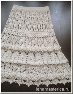 Marisabel crochet: Como me gusta esta falda