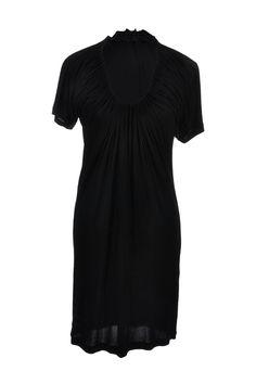#JeanPaulGaultier | #Sommerkleid aus schwarzem Jersey mit gerafften Ausschnitt, Gr. S | Jean Paul Gaultier Kleid | mymint-shop.com | Ihr #OnlineShop für #Secondhand / #Vintage #Designerkleidung & #Accessoires bis zu -90% vom Neupreis das ganze Jahr #mymint