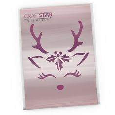 "2/"" Cake Stencil CraftStar Halloween Cookie Stencil 5 cm Craft Stencils"