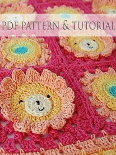 Top 10 Free Crochet Afghan Baby Blanket Pattern---- This lion pattern is actually a paid pattern, so they're a bunch of liars. Poncho Au Crochet, Crochet Afgans, Crochet Pillow, Crochet Blanket Patterns, Crochet Granny, Crochet Motif, Baby Blanket Crochet, Crochet Flowers, Crochet Stitches