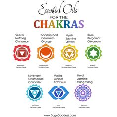 A Guide to Essential Oils for the Chakras