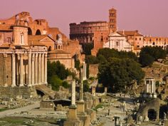 Roman Forum from Capitoline Hill Photographic Print by Glenn Beanland at AllPosters.com