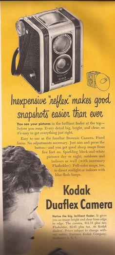 Kodak camera ad 1949.