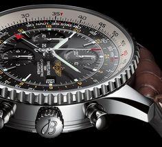 Breitling Navitimer wristwatch with circular slide rule.