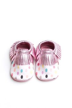 Polka-Party Moccs – minimoxie