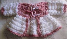 Casaquinho Crochê p/ Bebês: Crochê para bebês / Sob Encomenda  11- 996015232 whats ou 985040660  s_giroldo@hotmail.com