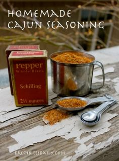 (Homemade) Emeril's Cajun Seasoning - put it on everything!