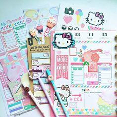 mydecoratedbliss:Half of my week in my Happy Planner by @meandmybigideas using…