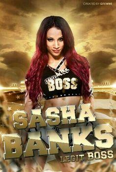 aecdbca5e Image(s) of Sasha Banks name are copyrighted by WWE Sasha Banks Legit BOSS
