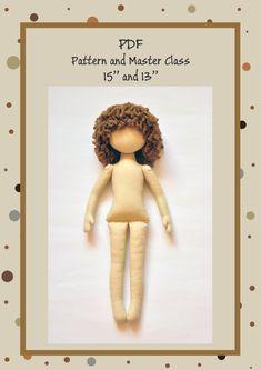 PDF Anna Doll Cloth Doll PatternPDF Sewing by NilaDolss on Etsy