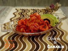 Cóctel de Camarón, sorprenda a sus invitados en la próxima reunión con este platillo frío.