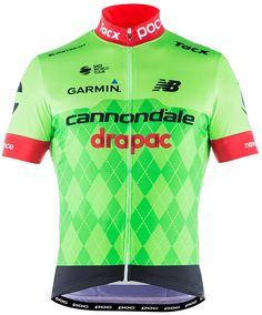 dres POC Cannondale Drapac Jersey cannondale green med Biciklis Ruhák a1536bb31
