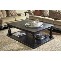 Living Room 1- wayfair Signature Design by Ashley Mallacar Coffee Table $490