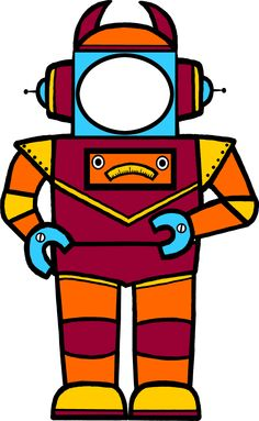 Classroom Treasures: Robot Clipart | August/September | Pinterest ...
