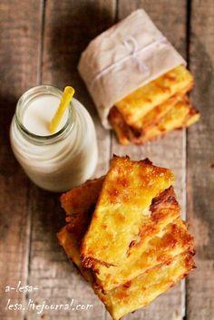 Слоёное печенье с сыром