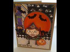 Halloween card series card 10 - YouTube
