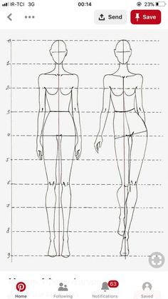 Fashion design sketches 532409987201464431 - 25 Trendy Fashion Sketches Body Models Drawing Reference Source by nouksong